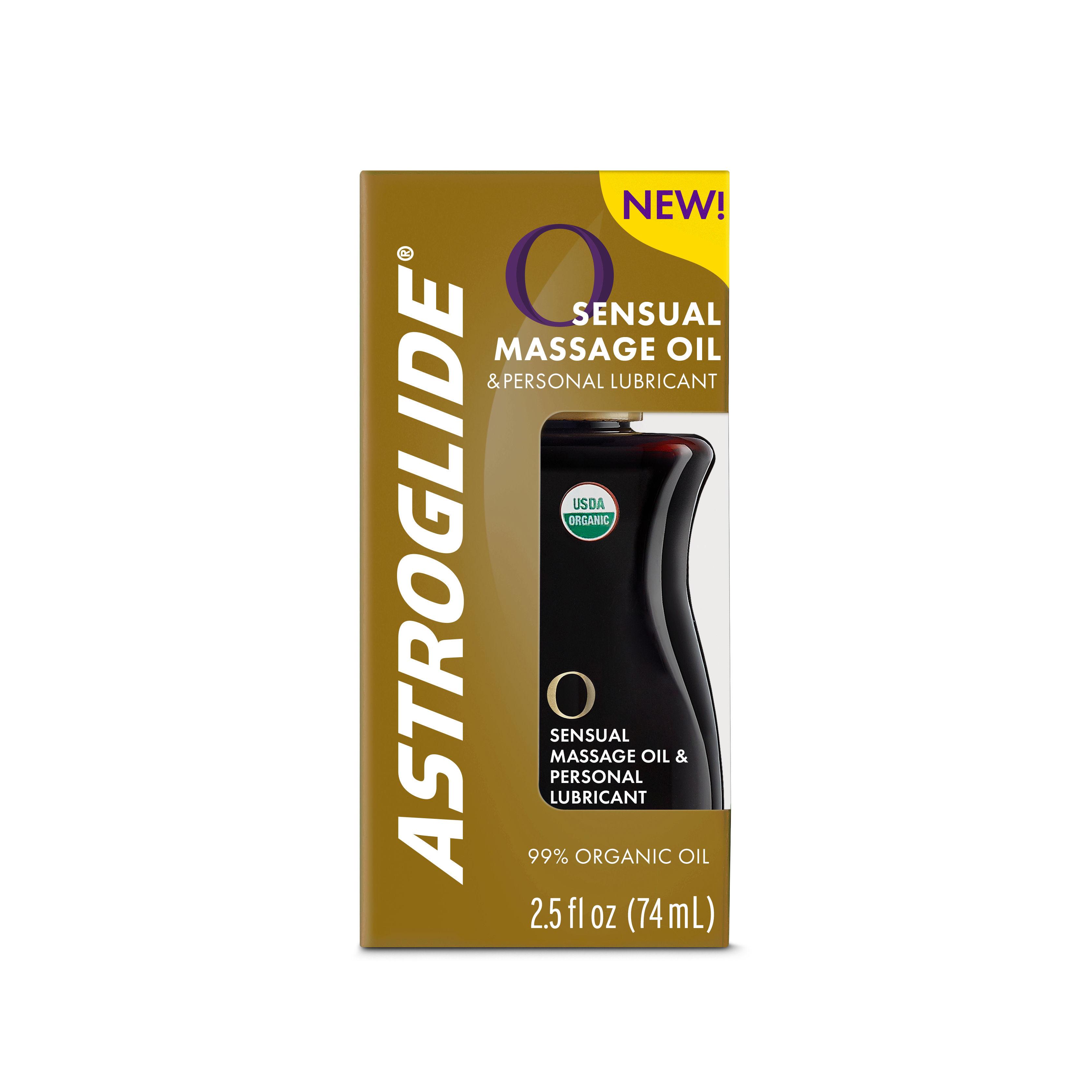 Astroglide Organic Oil Personal Lubricant & Massage Oil 74ml