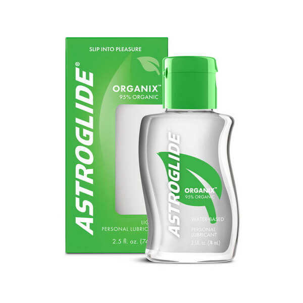Astroglide Organix 74ml certified organic personal lubricant and vaginal moisturiser