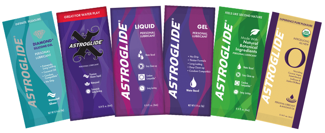 Astroglide Personal Lubricant Free Sample Sachets 4ml
